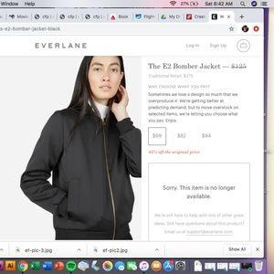 Everlane E2 Bomber Jacket